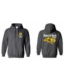 Dawn to Dusk 2019 Hoody, Grey