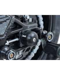Swingarm Protectors for BMW S1000RR/XR, F750GS/F850GS '18-, HP4, SUZUKI GSXR 600 K6- / 750 K6- / 1000 K5-, Yamaha MT-10 '16- & Niken '18-