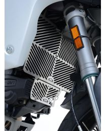 Stainless Steel Radiator Guard for the Ducati Multistrada 1200/S '15- and Multistrada 1260 '18-models
