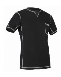 Halvarssons LIGHT Underwear, Short Sleeve, Black