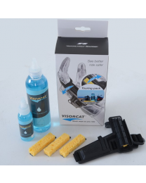 Visorcat Touring Pack ( Visorcat + 3-sponge pack + 250ml Wash refill)