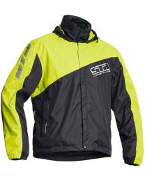 Lindstrands WP Jacket, Black & Yellow, size L